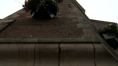 Amsterdam Muntorren Low Angle Tilt Stock Footage