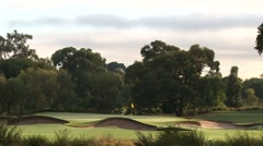 Fabulous Huntingdale 12th Par 3 - stock footage