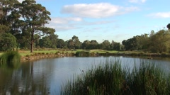 SERENITY at EVERY TURN - Melbourne Sandbelt Golf Stock Footage