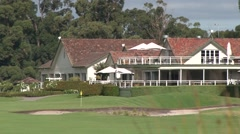 18th GREEN at Huntingdale GC Melbourne Stock Footage