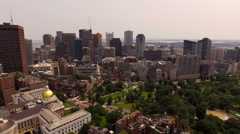 Stock Video Footage of Boston Aerial
