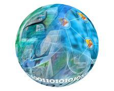sphere - stock illustration