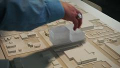 Stock Video Footage of Architecture Model