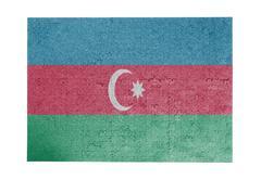 Large jigsaw puzzle of 1000 pieces - Azerbaijan - stock photo