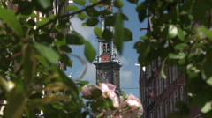 Amsterdam Westerker Church 2 Stock Footage