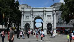 Marble arch, London Stock Footage