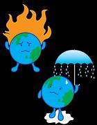 Global Warming Stock Illustration