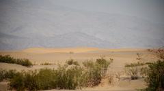 Death Valley Sand Dunes 06 Mesquite Flat Dunes Desert Stock Footage