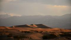 Death Valley Sand Dunes Time Lapse 02 Mesquite Flat Dunes Desert Stock Footage