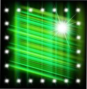Abstract magic light star background vector - stock illustration