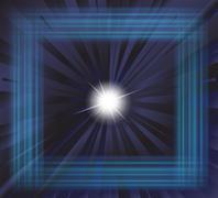 Star burst background - stock illustration