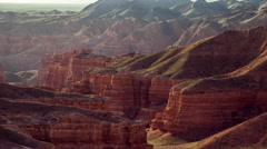 4K TimeLapse. Charyn grand canyon, camera close up Stock Footage