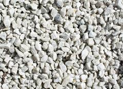 White sharp stones Stock Photos