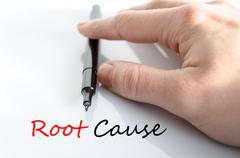 Root cause Text Concept - stock photo