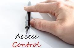 Access control Text Concept - stock photo