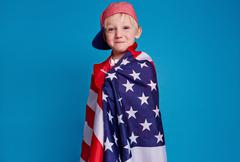 American patriot Stock Photos