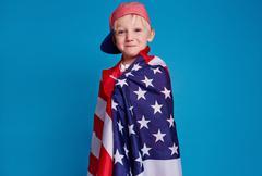 American patriot - stock photo