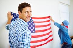 USA patriot - stock photo