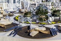 Wedding Tables Stock Photos