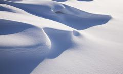 snow snowdrift - stock photo