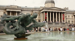 National Gallery, London Stock Footage