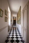 Corridor palace Stock Photos