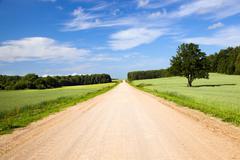Rural road Kuvituskuvat