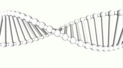 DNA structure model - stock footage
