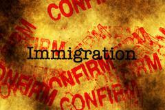 Immigration confirm Kuvituskuvat