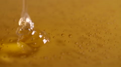 Pouring Honey Close-Up Stock Footage