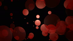 Stock Video Footage of reddish dot movement