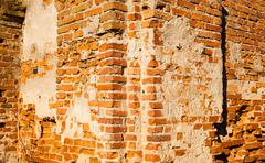 Collapsing wall Stock Photos