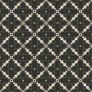 Geometric ornament seamless pattern.  Textile design template seamless Stock Illustration