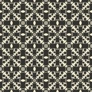 Geometric ornament seamless pattern.  Textile design template seamless - stock illustration