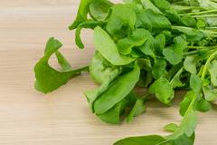 Rucola leaves - stock photo