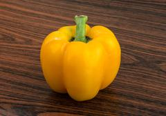 Stock Photo of Yellow Bulgarian Pepper