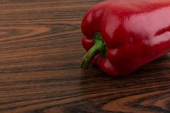 Stock Photo of Red bulgarian pepper