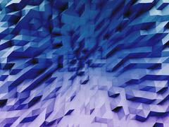 Abstract Triangle Geometrical Background illustration Stock Illustration