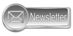 Newsletter Button Stock Photos