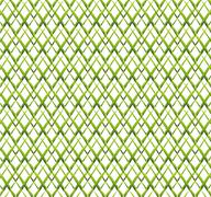 Abstract green grid background - stock illustration