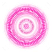 Abstract pink Techno Circle background Vector Piirros