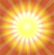 Abstract yellow laser light background vector - stock illustration