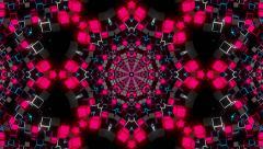 VJ Loop Kaleidoscope 07 - stock footage