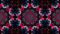 VJ Loop Kaleidoscope 08 Stock Footage
