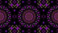 VJ Loop Kaleidoscope 09 Stock Footage