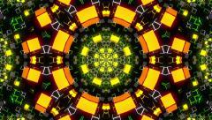 VJ Loop Kaleidoscope 12 - stock footage