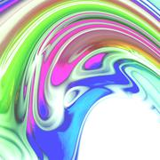Abstract iridescent colored texture or background Stock Illustration