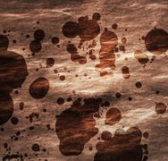Abstract stone texture with stains - stock illustration