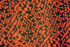 Texture fabric grid zigzag - stock photo