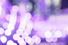 City night purple lights blurred bokeh Kuvituskuvat